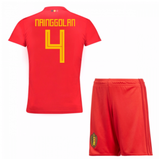 2018-19 Belgium Home Mini Kit (Nainggolan 4)