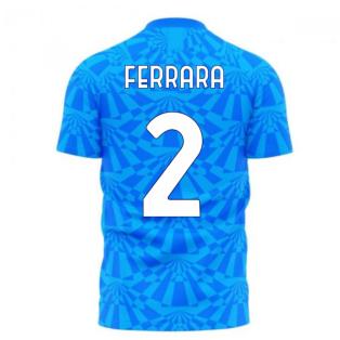 Napoli 1990s Home Concept Football Kit (Libero) (FERRARA 2)