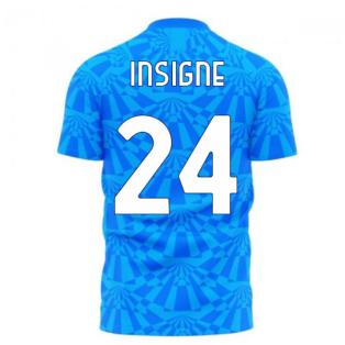 Napoli 1990s Home Concept Football Kit (Libero) (INSIGNE 24)