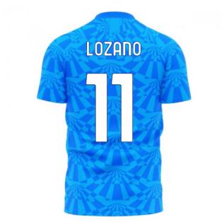 Napoli 1990s Home Concept Football Kit (Libero) (LOZANO 11)