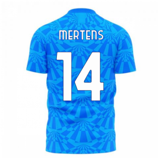 Napoli 1990s Home Concept Football Kit (Libero) (MERTENS 14)