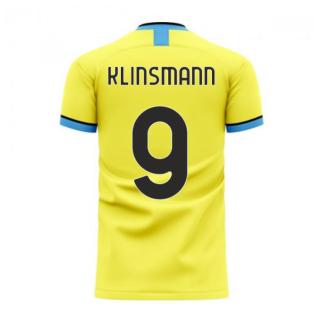 Nerazzurri Milan 2020-2021 Away Concept Football Kit (Libero) (Klinsmann 9)