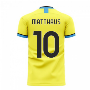 Nerazzurri Milan 2020-2021 Away Concept Football Kit (Libero) (Matthaus 10)
