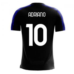Nerazzurri Milan 2020-2021 Home Concept Football Kit (Libero) (ADRIANO 10)