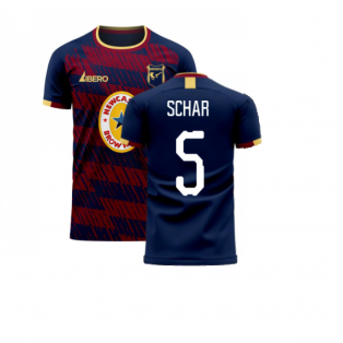 Newcastle 2020-2021 Away Concept Football Kit (Libero) (SCHAR 5)