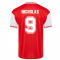 Score Draw Arsenal 1985 Centenary Retro Football Shirt (Nicholas 9)