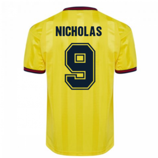 Score Draw Arsenal 1985 Centenary Away Shirt (Nicholas 9)