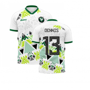 Nigeria 2020-2021 Away Concept Football Kit (Libero) (DENNIS 13)