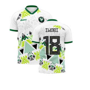 Nigeria 2020-2021 Away Concept Football Kit (Libero) (IWOBI 18)