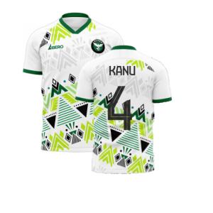 Nigeria 2020-2021 Away Concept Football Kit (Libero) (KANU 4)