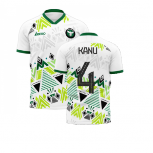 Nigeria 2020-2021 Away Concept Football Kit (Libero) (KANU 4)