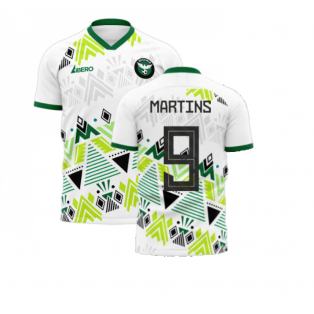 Nigeria 2020-2021 Away Concept Football Kit (Libero) (MARTINS 9)