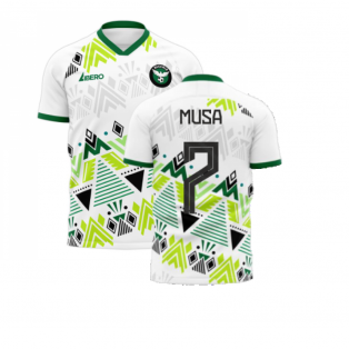 Nigeria 2020-2021 Away Concept Football Kit (Libero) (MUSA 7)