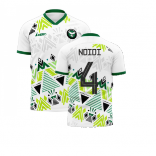 Nigeria 2020-2021 Away Concept Football Kit (Libero) (NDIDI 4)