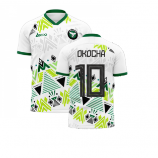 Nigeria 2020-2021 Away Concept Football Kit (Libero) (OKOCHA 10)