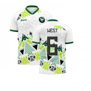 Nigeria 2020-2021 Away Concept Football Kit (Libero) (WEST 6)