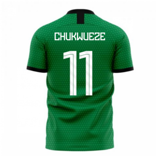 Nigeria 2020-2021 Home Concept Football Kit (Libero) (CHUKWUEZE 11)
