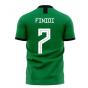 Nigeria 2020-2021 Home Concept Football Kit (Libero) (FINIDI 7)