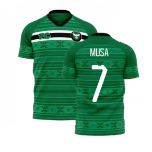 Nigeria 2020-2021 Home Concept Kit (Fans Culture) (MUSA 7)