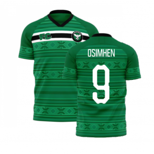 Nigeria 2020-2021 Home Concept Kit (Fans Culture) (OSIMHEN 9)