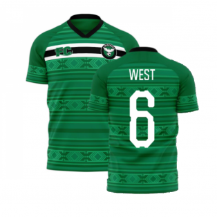 Nigeria 2020-2021 Home Concept Kit (Fans Culture) (WEST 6)