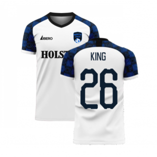 North London 2020-2021 Home Concept Football Kit (Libero) (KING 26)