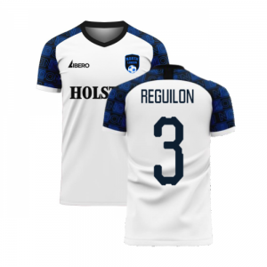 North London 2020-2021 Home Concept Football Kit (Libero) (REGUILON 3)