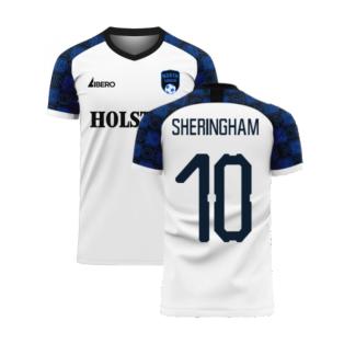 North London 2020-2021 Home Concept Football Kit (Libero) (SHERINGHAM 10)