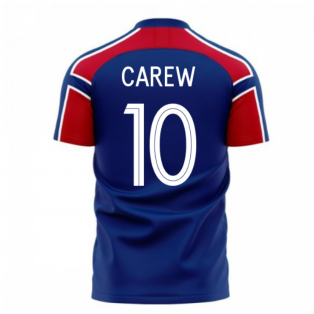 Norway 2020-2021 Away Concept Football Kit (Libero) (CAREW 10)