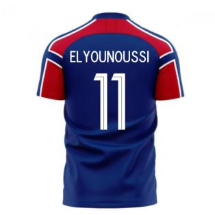 Norway 2020-2021 Away Concept Football Kit (Libero) (ELYOUNOUSSI 11)