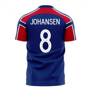 Norway 2020-2021 Away Concept Football Kit (Libero) (JOHANSEN 8)