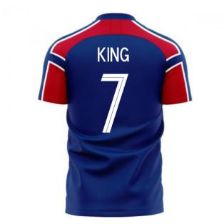 Norway 2020-2021 Away Concept Football Kit (Libero) (KING 7)