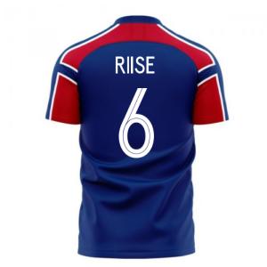 Norway 2020-2021 Away Concept Football Kit (Libero) (RIISE 6)