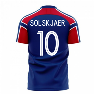 Norway 2020-2021 Away Concept Football Kit (Libero) (SOLSKJAER 10)