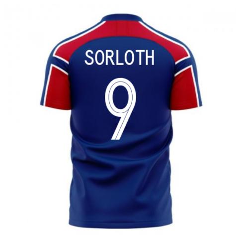 Norway 2020-2021 Away Concept Football Kit (Libero) (SORLOTH 9)
