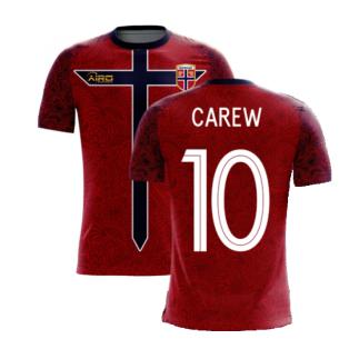 Norway 2020-2021 Home Concept Football Kit (Airo) (CAREW 10)