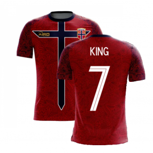 Norway 2020-2021 Home Concept Football Kit (Airo) (KING 7)