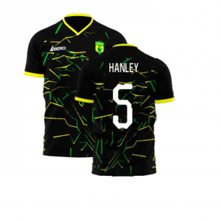 Norwich 2020-2021 Away Concept Football Kit (Libero) (Hanley 5)