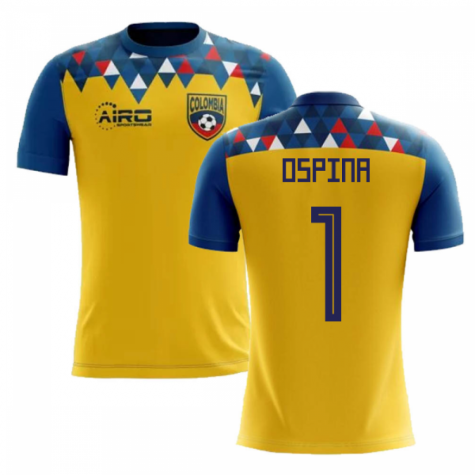 2020-2021 Colombia Concept Football Shirt (Ospina 1)