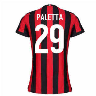 2017-2018 AC Milan Womens Home Shirt (Paletta 29)
