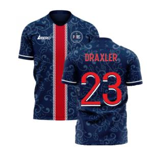 Paris 2020-2021 Home Concept Football Kit (Libero) (DRAXLER 23)