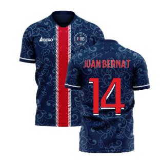 Paris 2020-2021 Home Concept Football Kit (Libero) (JUAN BERNAT 14)