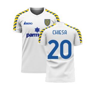Parma 2020-2021 Home Concept Football Kit (Libero) (CHIESA 20)