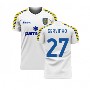 Parma 2020-2021 Home Concept Football Kit (Libero) (GERVINHO 27)