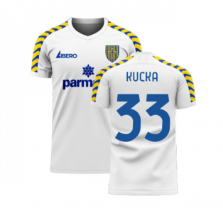 Parma 2020-2021 Home Concept Football Kit (Libero) (KUCKA 33)