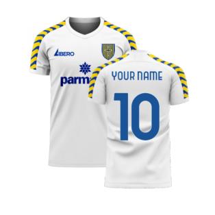 Parma 2020-2021 Home Concept Football Kit (Libero) (Your Name)