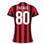 2017-2018 AC Milan Womens Home Shirt (Pasalic 80)