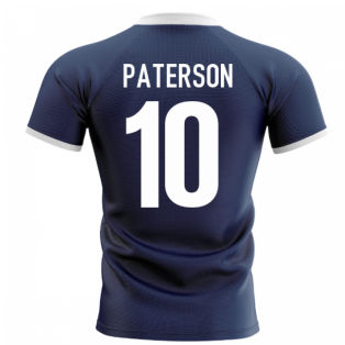 2020-2021 Scotland Flag Concept Rugby Shirt (Paterson 10)