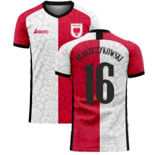 Poland 2020-2021 Away Concept Football Kit (Libero) (BLASZCZYKOWSKI 16)