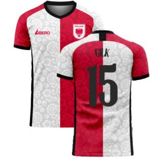 Poland 2020-2021 Away Concept Football Kit (Libero) (GILK 15)